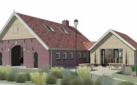 Boerderij Stakenboer, 3d ontwerp